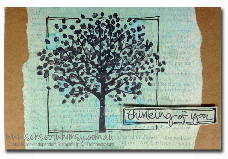 Gesso & Spritzer background using Tempting Turquoise and Wild Wasabi spritzers