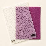 Decorative Dots Embossing Folder