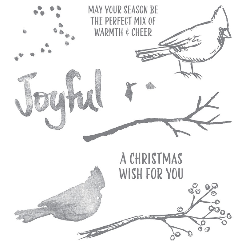 139770G Joyful Season Stamp Set