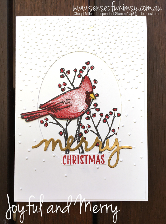 Joyful and Merry Christmas Card
