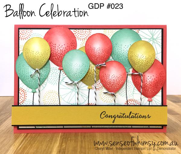 GDP023 Balloon Theme