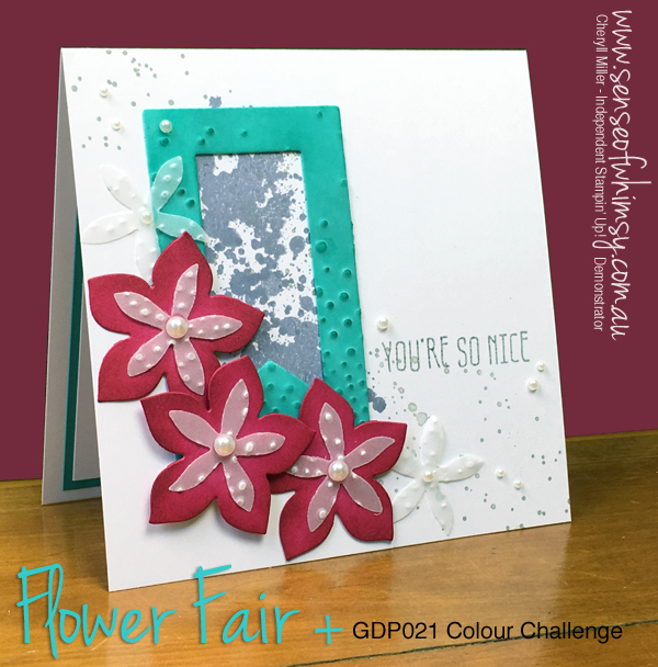 GDP021 Flower Fair Frame