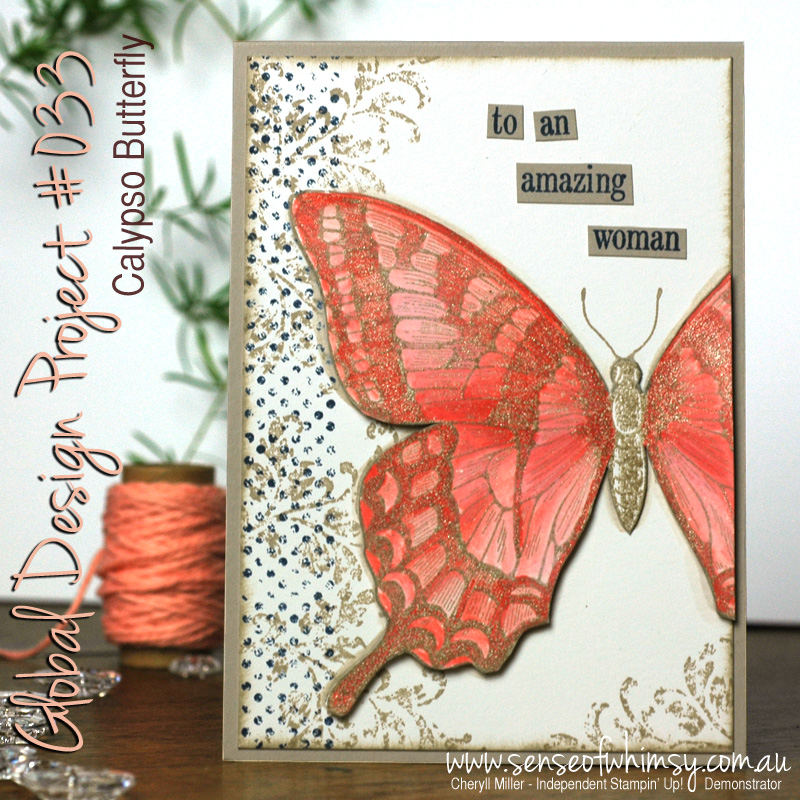 GDP033 Calypso Butterfly