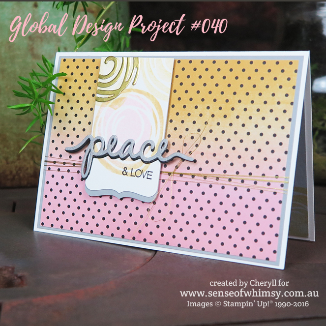Pop of Pink for Global Design Project