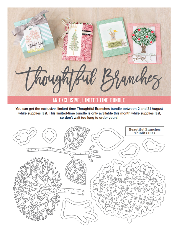 Beautiful Branches Thinlits