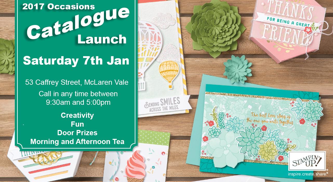 Catalogue Launch Promotion