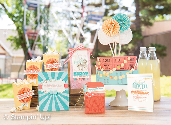 Cupcake and Carousel Suite Samples