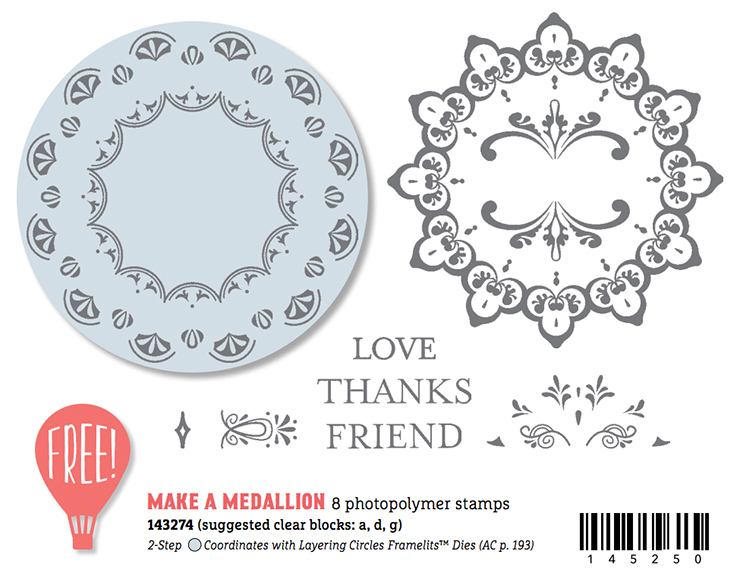 Make a Medallion Stamp Set