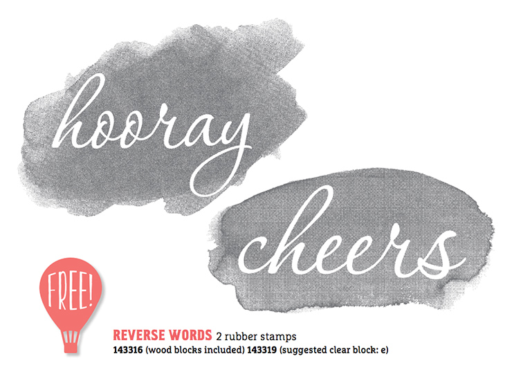 Reverse Words Sale-A-Bration Second Release