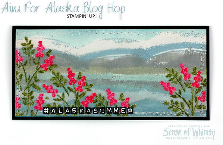 Aim for Alaska Blog Hop