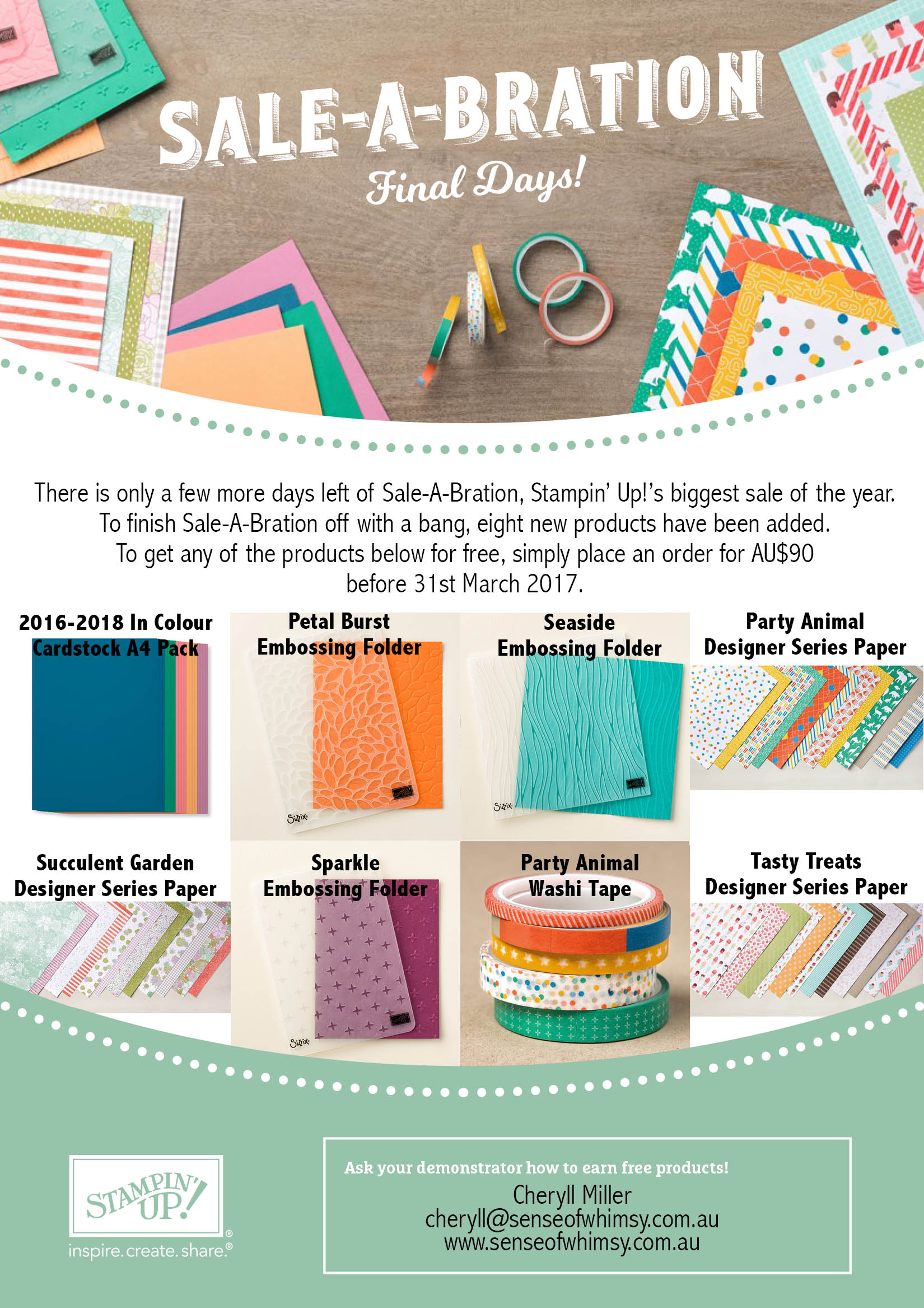 Final Sale-A-Bration Items
