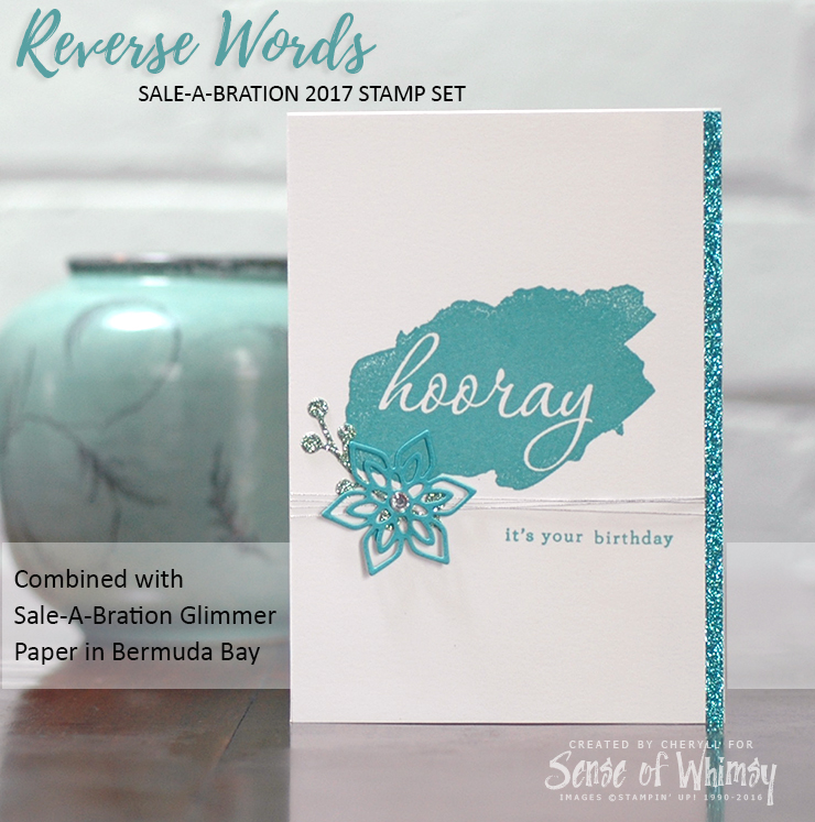 Sale-A-Bration Items Reverse Words