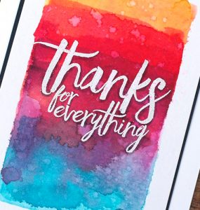 All Things Thanks header