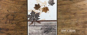 Colourful Seasons Masculine Card Header