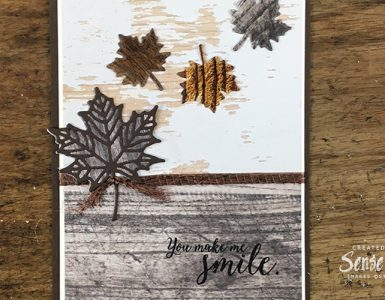Colourful Seasons Masculine Card Header