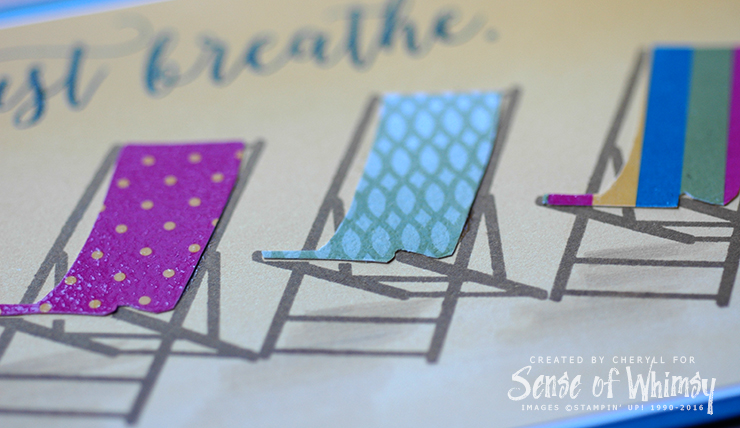 Colour Theory Deck Chairs