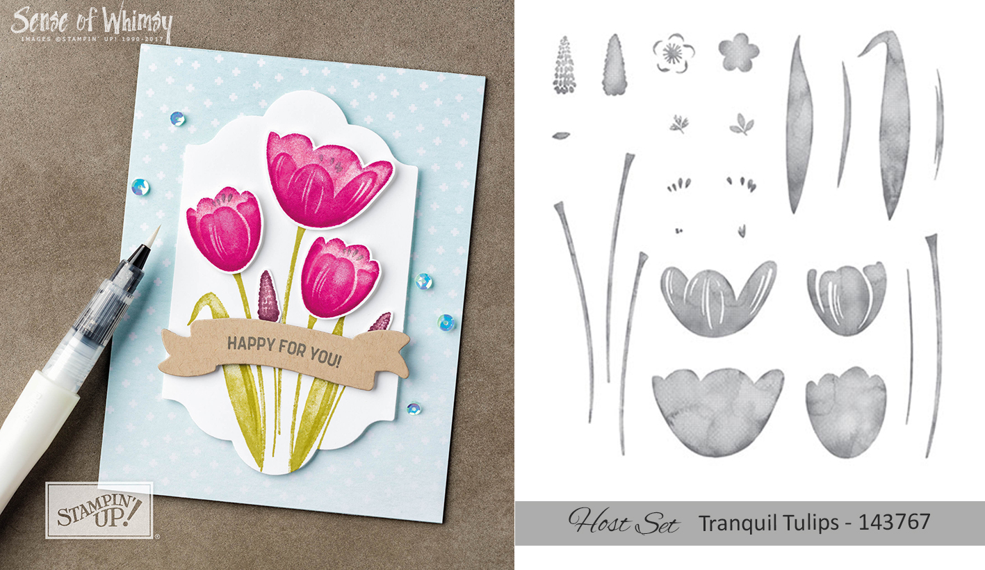 Tranquil Tulips Host Set