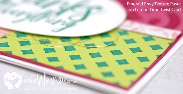 Emerald Envy Texture Paste