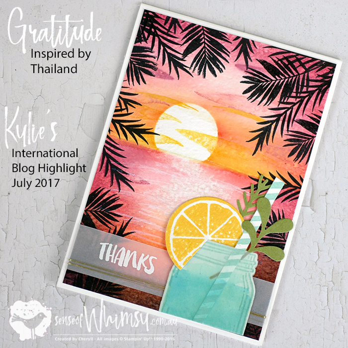 Kylie's International Blog Higlight