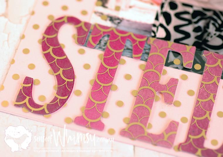 Fabulous Foil Letters