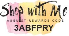 Rewards Code August