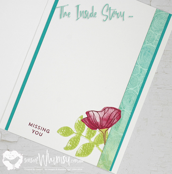 The Inside Story to the Texture Tree Ring Card for Creating Kindness Design Team Blog Hop