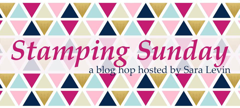 Stamping Sunday Blog Hop Header