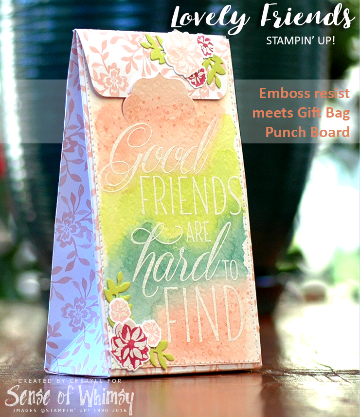Lovely Friend Gift Bag