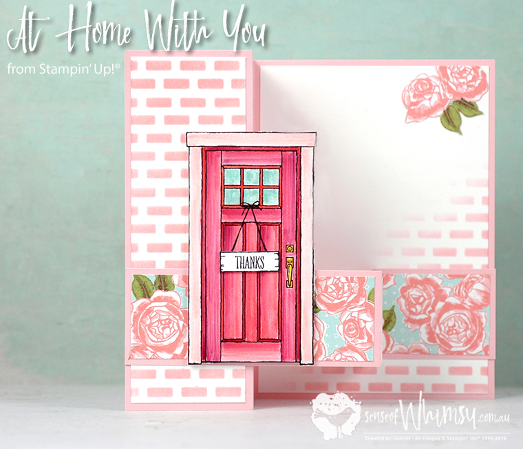 At Home with You for Stamping Dreams Blog Hop