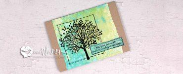 Sheltering Tree Sympathy Card