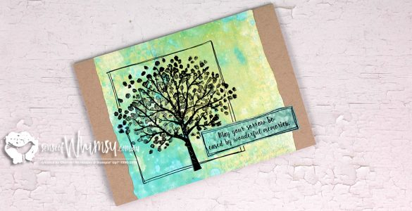 Sheltering Tree Sympathy Card