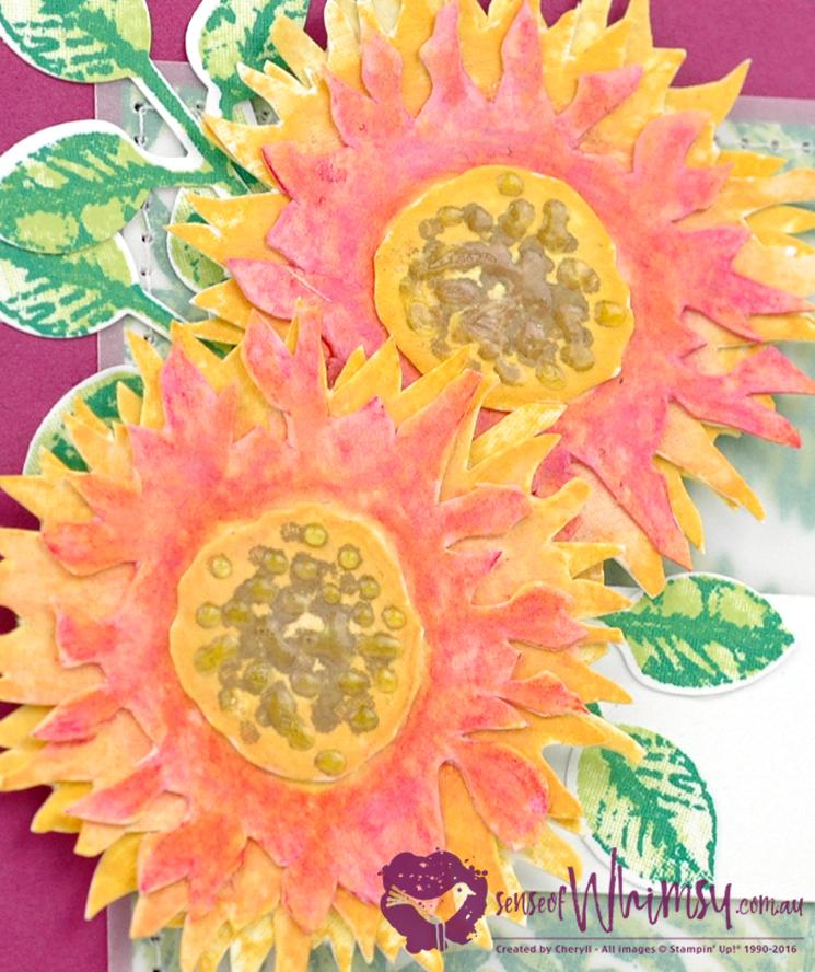 Painted Harvest Watercolour Flowers