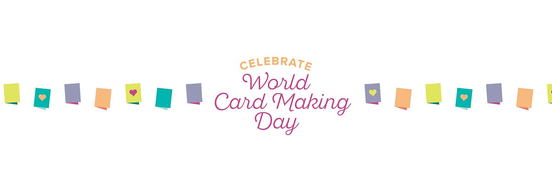 World Card Making Day Banner