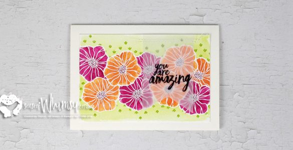 Creating Kindness Blog Hop Eclectic Watercolouring