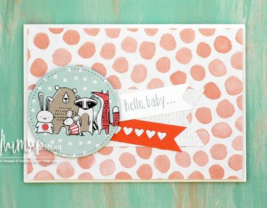 Pick a Pattern Baby Card Header