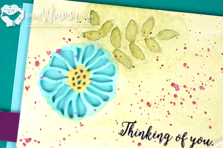 Die Cut Flower from Eclectic Layers Thinlits