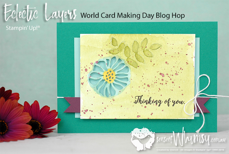 Eclectic Layers for World Cardmaking Day