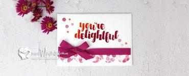 Your'e Delightful Header