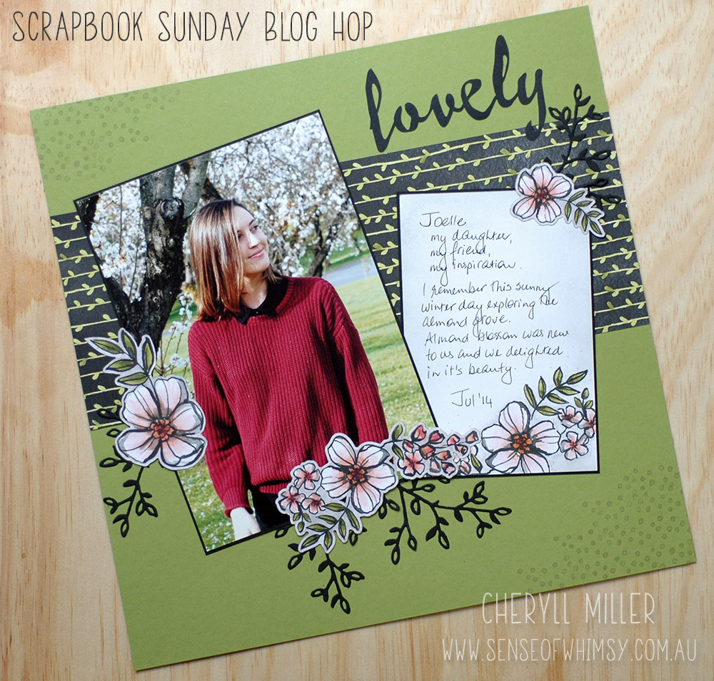 Scrapping Sunday Layout