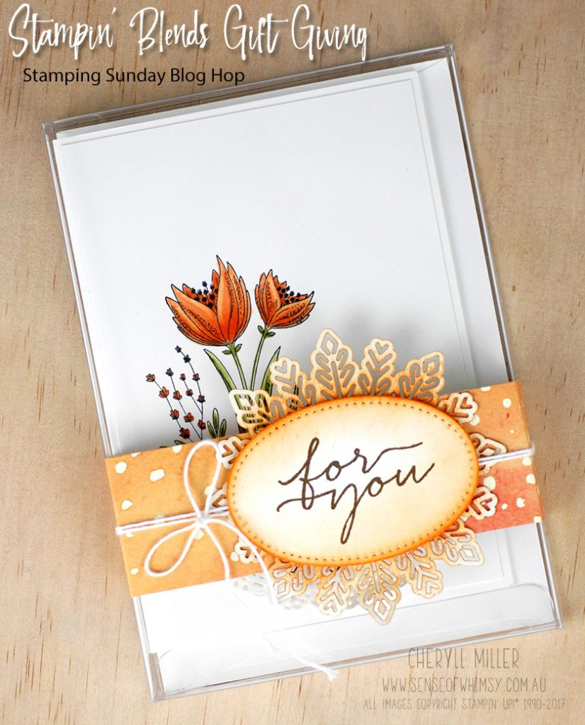 Stampin' Blends Acetate Card Box