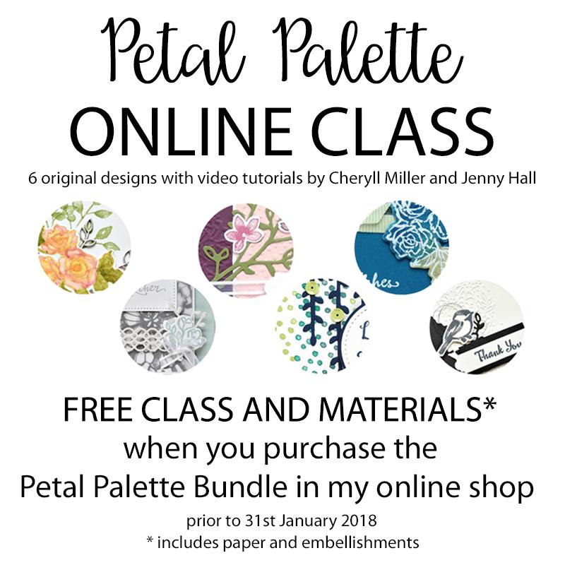 Petal Palette Online Class