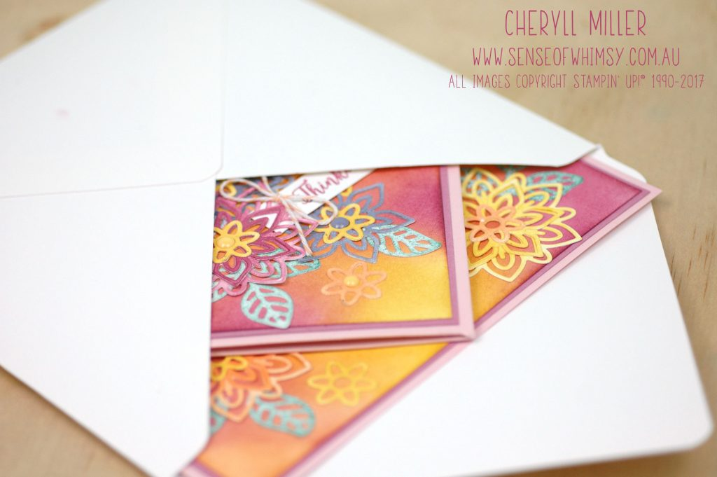 Card Flat in envelope
