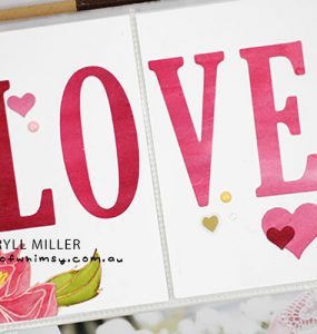 Scrapbook Sunday Love