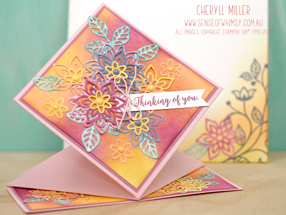 Spring Fold Card for Creating Kindness Blog Hop