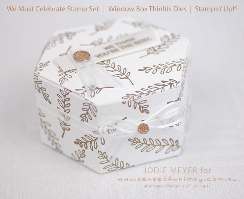 Hexagonal Window Box Thinlits Dies