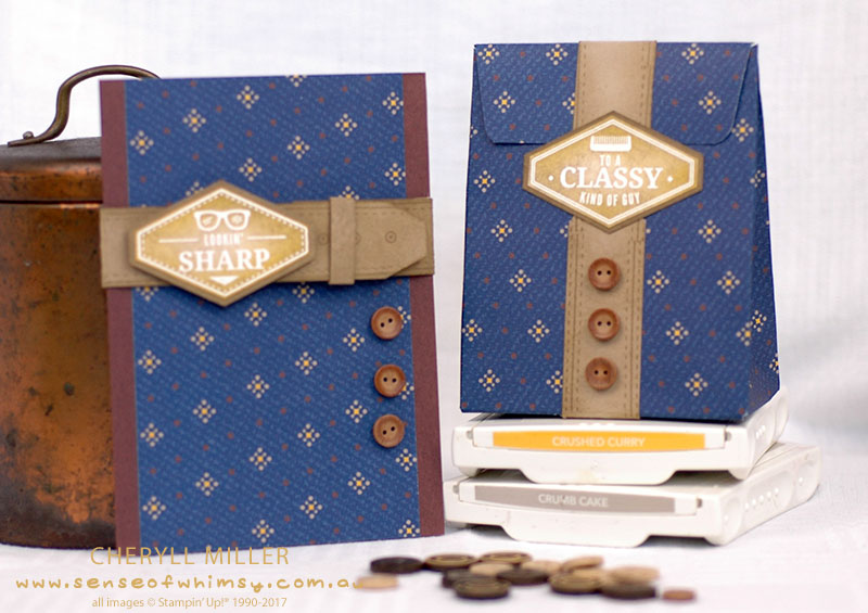 True Gentleman Card and Gift Bag Set