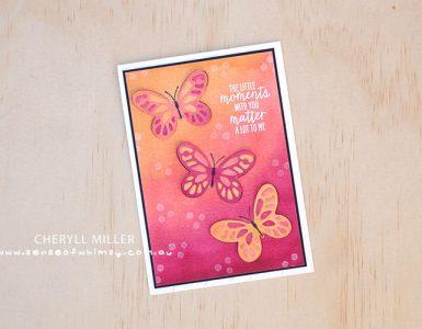 Bold Butterfly Framelits Header