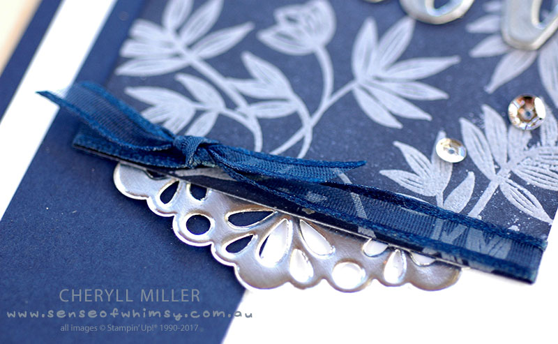 Metallic Doily Lovely Wishes