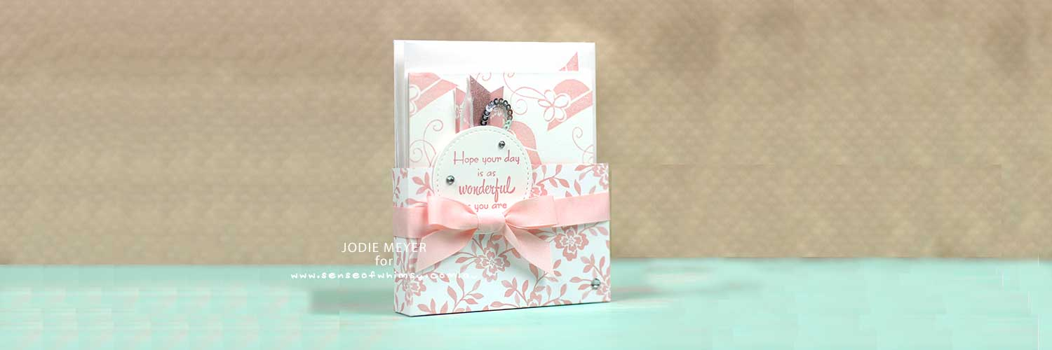 A Mothers Flair Note Card Header