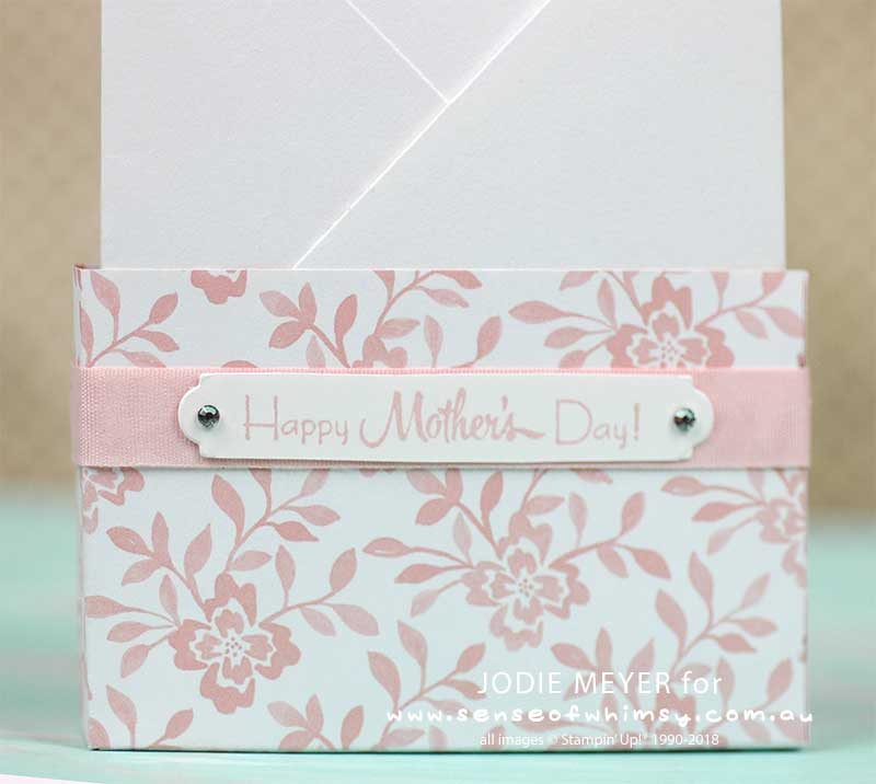 Happy Mothers Day back of box